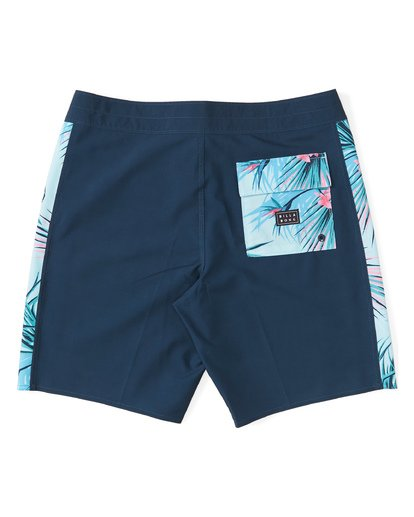 "3 D Bah Pro Boardshort 19"" Blue M1321BDS Billabong"