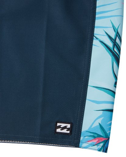 "7 D Bah Pro Boardshort 19"" Blue M1321BDS Billabong"