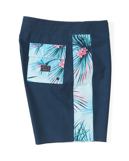 "2 D Bah Pro Boardshort 19"" Blue M1321BDS Billabong"
