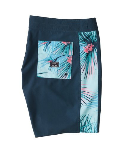 "5 D Bah Pro Boardshort 19"" Blue M1321BDS Billabong"