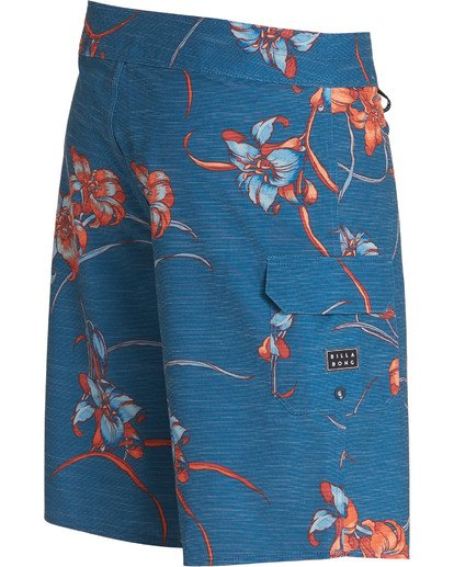 3 All Day Floral Pro Boardshorts Blue M132TBAF Billabong