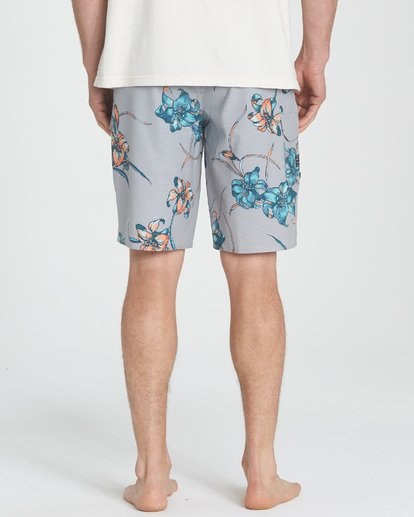 5 All Day Floral Pro Boardshorts Grey M132TBAF Billabong
