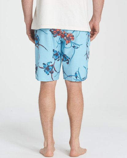 5 All Day Floral Pro Boardshorts Blue M132TBAF Billabong