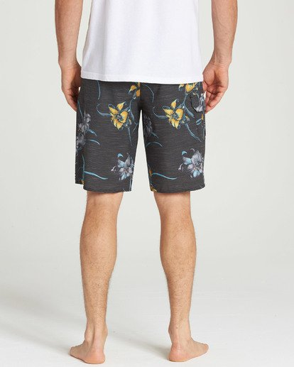 5 All Day Floral Pro Boardshorts Black M132TBAF Billabong
