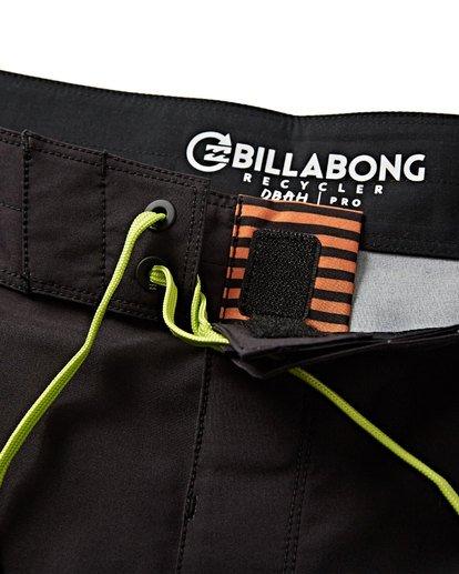 4 D Bah Pro Boardshorts Black M132VBDS Billabong