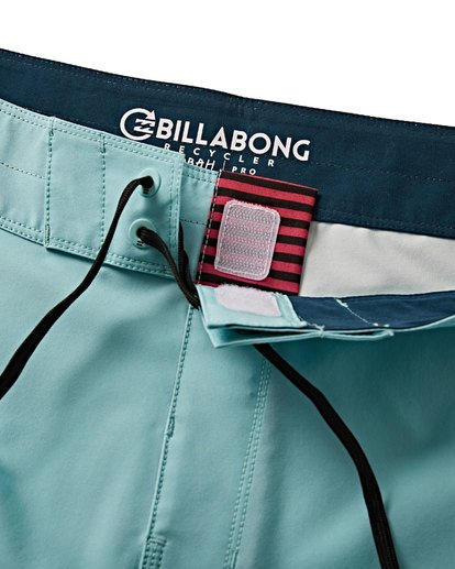 4 D Bah Pro Boardshorts Blue M132VBDS Billabong
