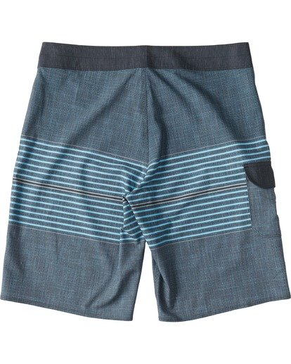 1 All Day Heather Stripe Pro Boardshorts Blue M1331BHP Billabong