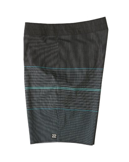 "2 All Day Heather Stripe Pro Boardshort 20"" Black M1331BHP Billabong"