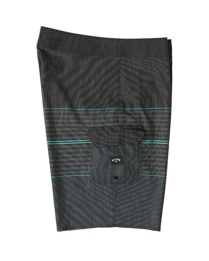 "3 All Day Heather Stripe Pro Boardshort 20"" Black M1331BHP Billabong"
