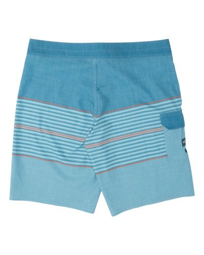 1 All Day Heather Stripe Pro Boardshorts Pink M1331BHP Billabong