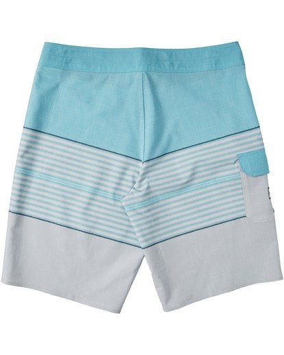 "1 All Day Heather Stripe Pro Boardshorts 20"" Grey M1331BHP Billabong"