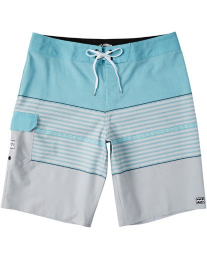 "0 All Day Heather Stripe Pro Boardshorts 20"" Grey M1331BHP Billabong"