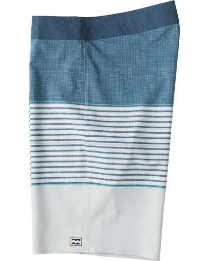 "2 All Day Heather Stripe Pro Boardshort 20"" Beige M1331BHP Billabong"