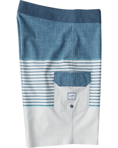 "3 All Day Heather Stripe Pro Boardshort 20"" Beige M1331BHP Billabong"