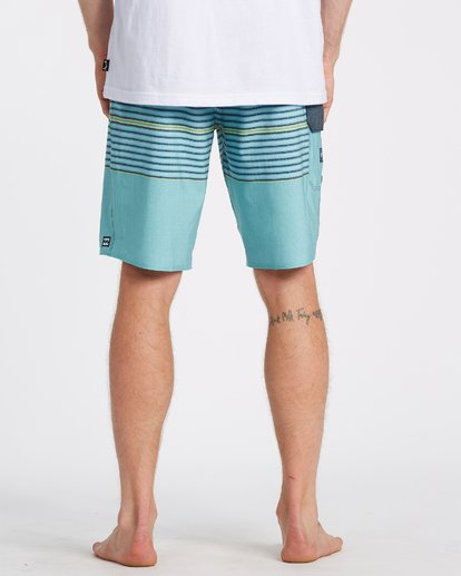 5 All Day Heather Stripe Pro Boardshorts Blue M1331BHP Billabong
