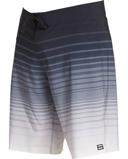 2 All Day Stripe Pro Boardshorts Black M133TBAS Billabong