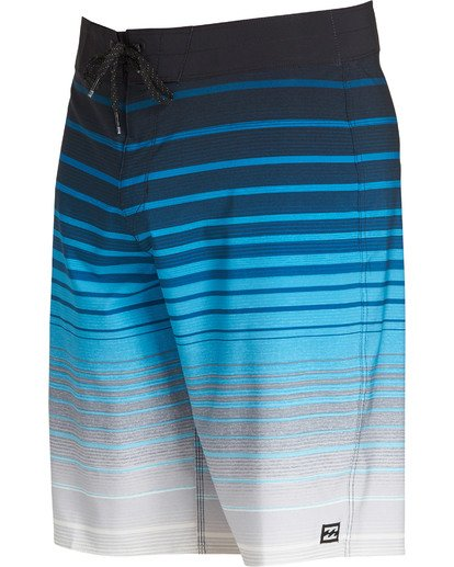 2 All Day Stripe Pro Boardshorts Blue M133TBAS Billabong