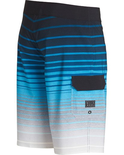3 All Day Stripe Pro Boardshorts Blue M133TBAS Billabong