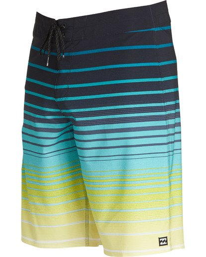 2 All Day Stripe Pro Boardshorts Yellow M133TBAS Billabong