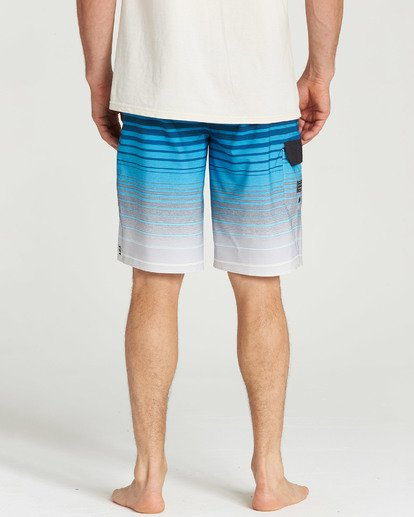 9 All Day Stripe Pro Boardshorts Blue M133TBAS Billabong