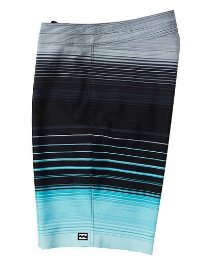 "4 All Day Stripe Pro Boardshort 20"" Green M1341BSP Billabong"