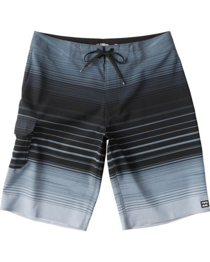 "0 All Day Stripe Pro Boardshort 20"" Multicolor M1341BSP Billabong"