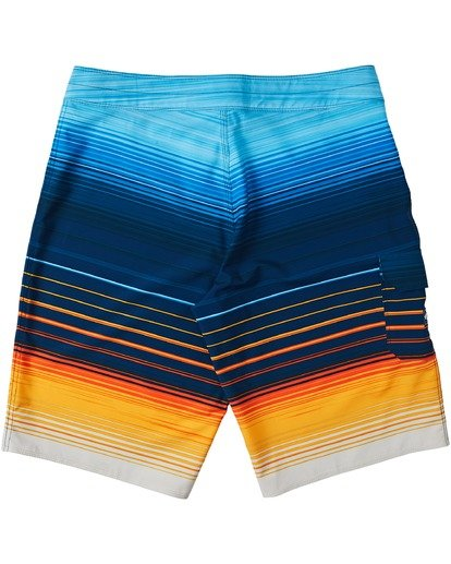 "3 All Day Stripe Pro Boardshort 20"" Yellow M1341BSP Billabong"