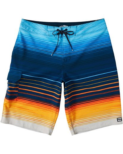 "1 All Day Stripe Pro Boardshort 20"" Yellow M1341BSP Billabong"