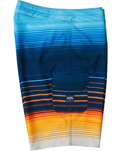 "2 All Day Stripe Pro Boardshort 20"" Yellow M1341BSP Billabong"