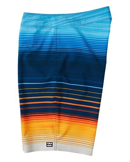 "4 All Day Stripe Pro Boardshort 20"" Yellow M1341BSP Billabong"