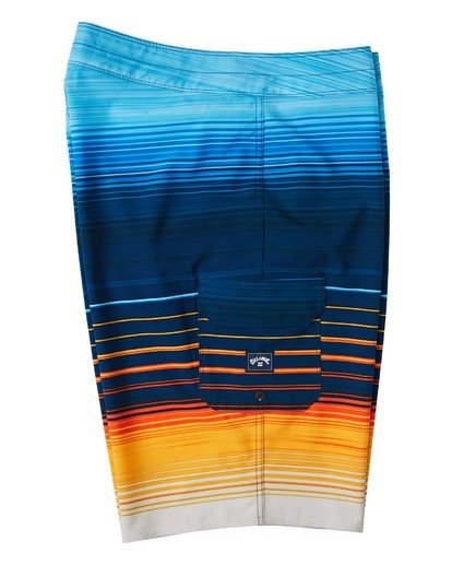 "5 All Day Stripe Pro Boardshort 20"" Yellow M1341BSP Billabong"
