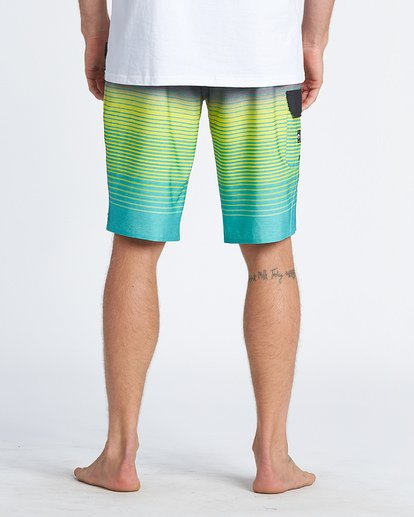 5 All Day Stripe Pro Boardshorts Blue M1341BSP Billabong