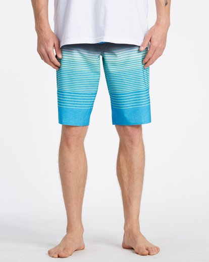 2 All Day Stripe Pro Boardshorts Blue M1341BSP Billabong