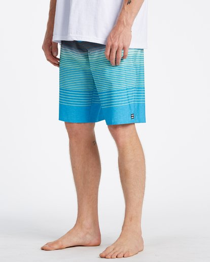 3 All Day Stripe Pro Boardshorts Blue M1341BSP Billabong