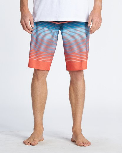 2 All Day Stripe Pro Boardshorts Multicolor M1341BSP Billabong