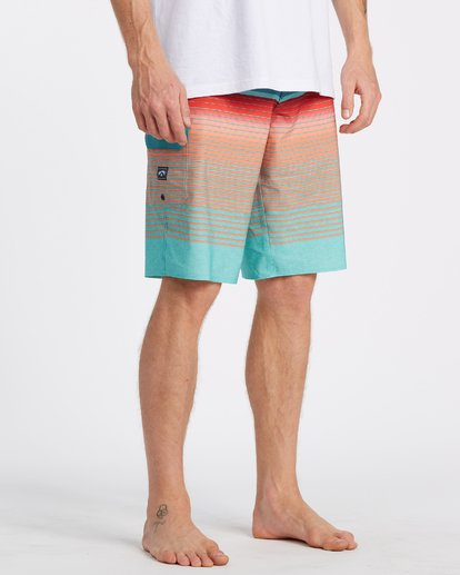 4 All Day Stripe Pro Boardshorts Blue M1341BSP Billabong