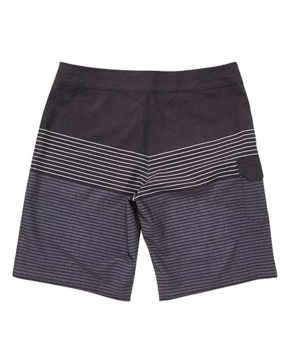 1 All Day Heather Stripe Pro Boardshorts Grey M134TBAH Billabong