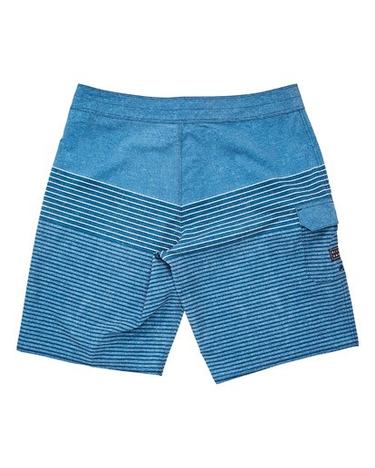 1 All Day Heather Stripe Pro Boardshorts Blue M134TBAH Billabong