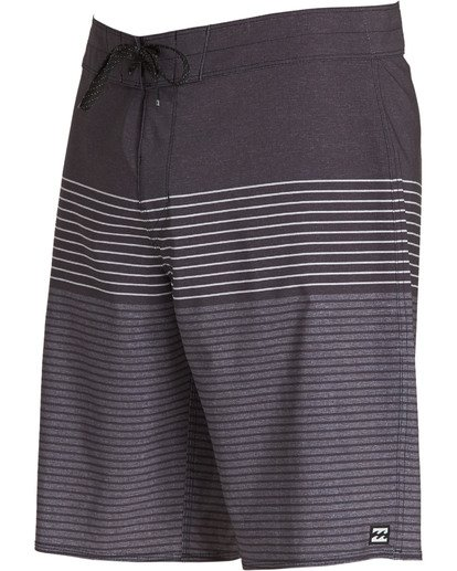 2 All Day Heather Stripe Pro Boardshorts Grey M134TBAH Billabong