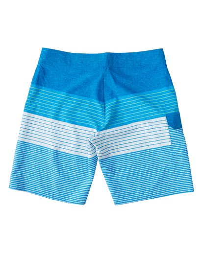 "1 All Day Heather Stripe Pro Boardshort 20"" Blue M134VBAH Billabong"