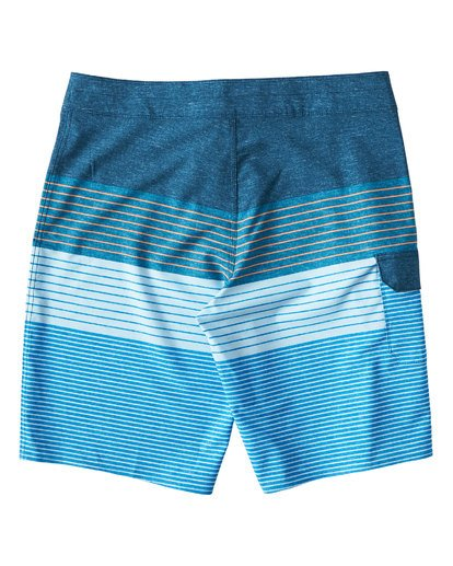 1 All Day Heather Stripe Pro Boardshorts Blue M134VBAH Billabong