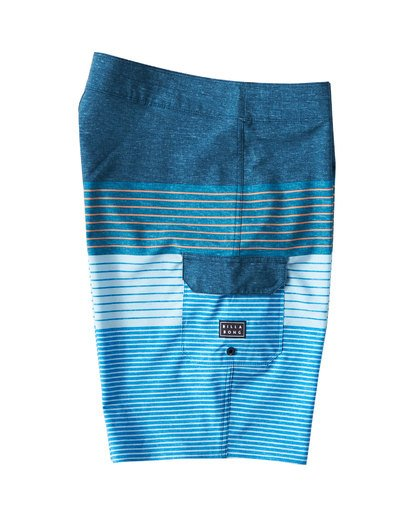2 All Day Heather Stripe Pro Boardshorts Blue M134VBAH Billabong
