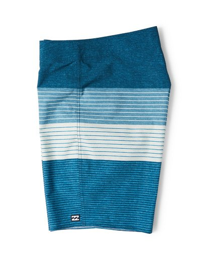 3 All Day Heather Stripe Pro Boardshorts Blue M134VBAH Billabong