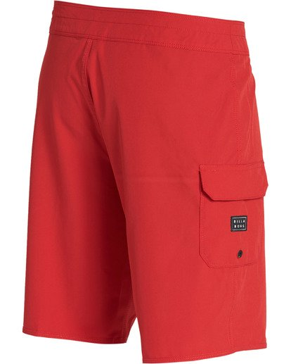 4 All Day Pro Boardshorts Red M135TBAD Billabong