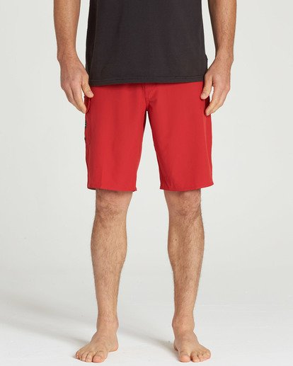 9 All Day Pro Boardshorts Red M135TBAD Billabong