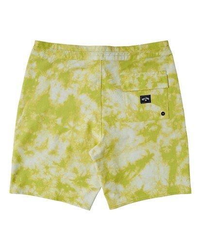 1 All Day Lo Tide Boardshorts Yellow M1363BAL Billabong