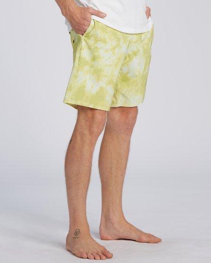 5 All Day Lo Tide Boardshorts Yellow M1363BAL Billabong