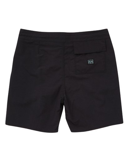 1 Atlas Jacquard Boardshorts Black M136TBAJ Billabong
