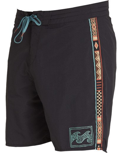 2 Atlas Jacquard Boardshorts Black M136TBAJ Billabong