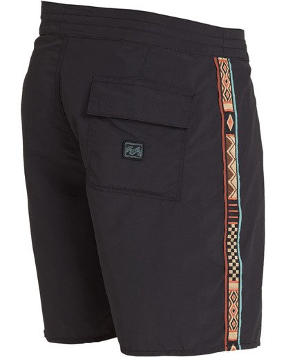 3 Atlas Jacquard Boardshorts Black M136TBAJ Billabong